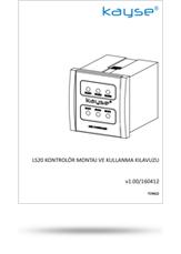 LS20 Kontrolör Montaj ve Kullanma Kılavuzu