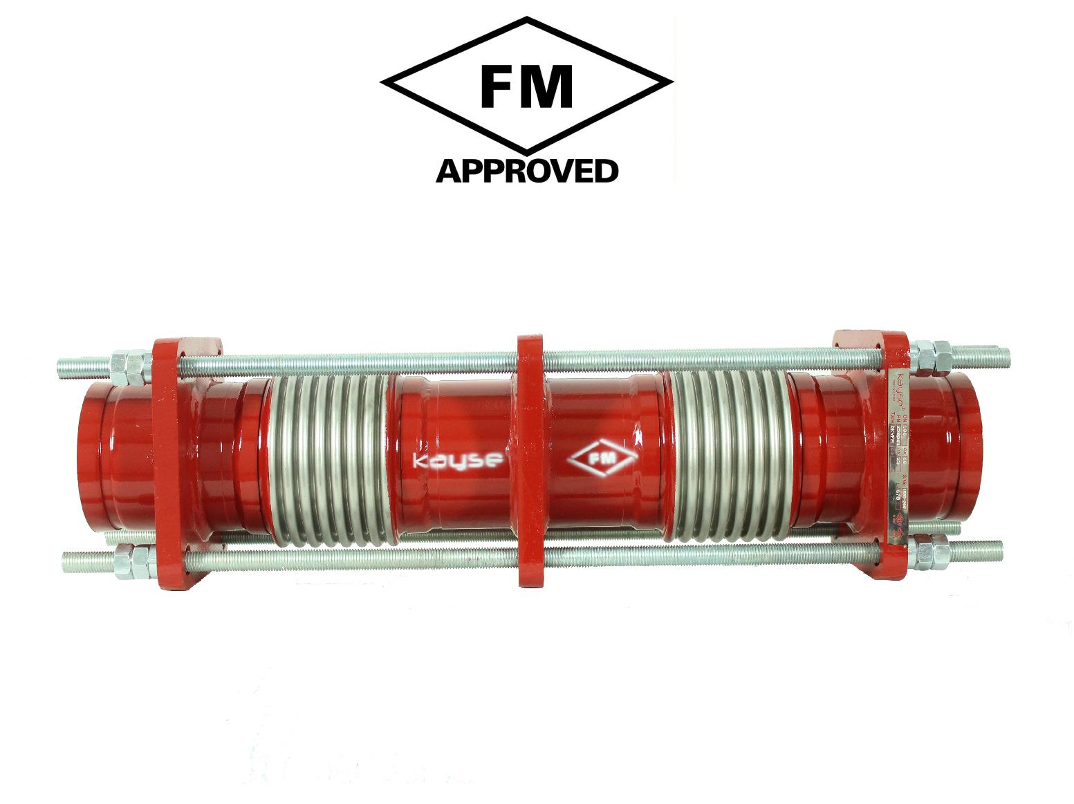 FM Onaylı Limit Rotlu Dilatasyon Kompansatörü - Yivli