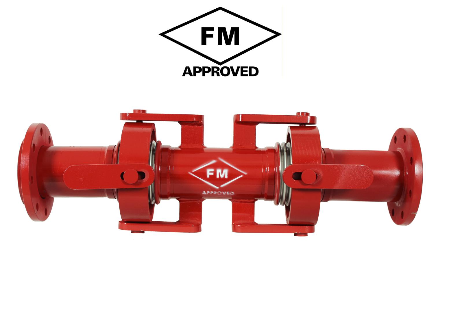 FM Onaylı Kardan Mafsallı Deprem Kompansatörü - Flanşlı