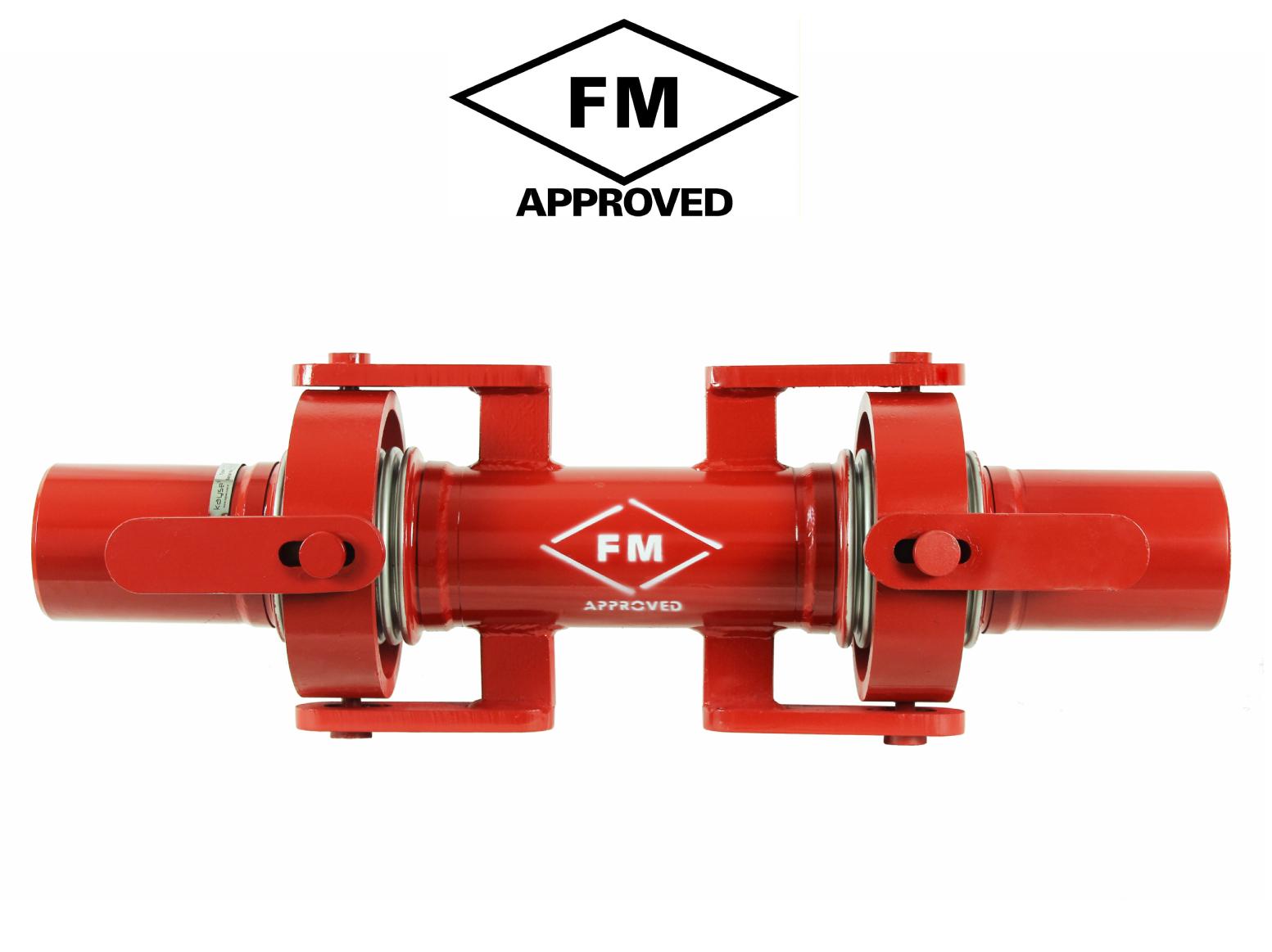 FM Onaylı Kardan Mafsallı Deprem Kompansatörü - Kaynak Boyunlu
